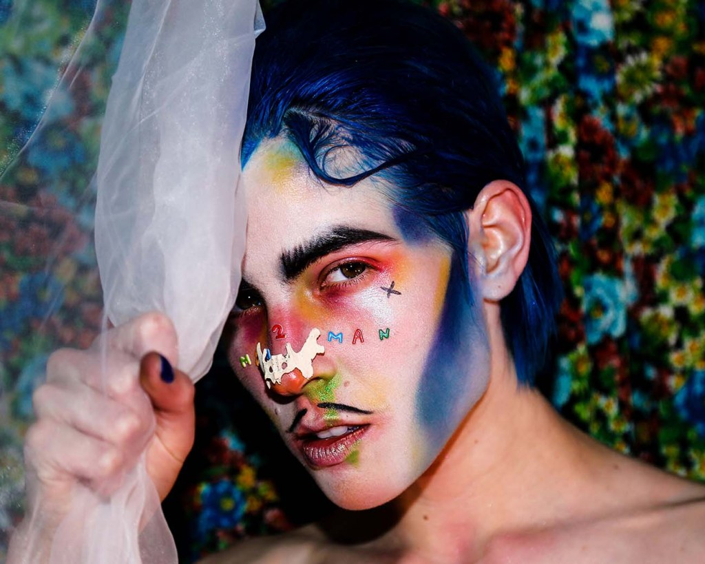 Gender non conforming artist challenges the status quo.