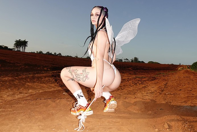 Zheani Sparkes in a fairy costume