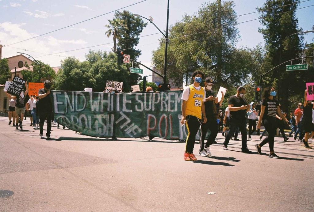 BLM protest in San Jose, California