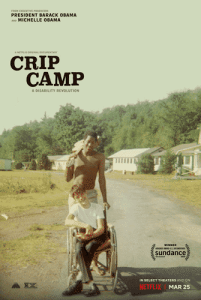 Disabled pride represented in Crip Camp on Netflix.