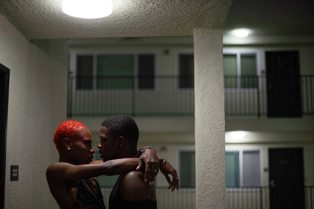 Diallo and Davonti in a fashion film about two gay lovers