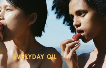 Everyday Oil genderless brand features unisex models