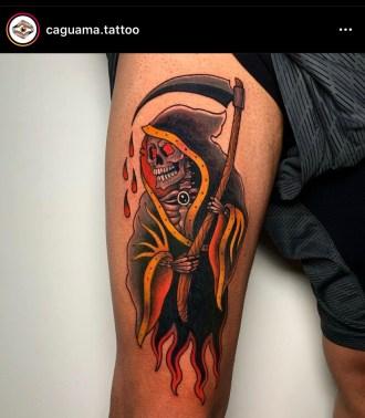 instagram photo of grim reaper by Caguama