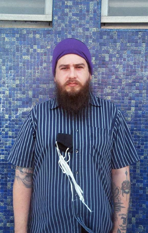 Portrait of tattoo artist in Puerto Rico Joey