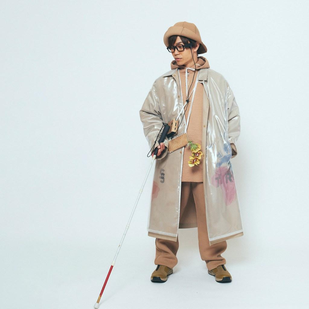 Model Fumiya Hamanoue: a participating model and visually impaired Paralympic climber