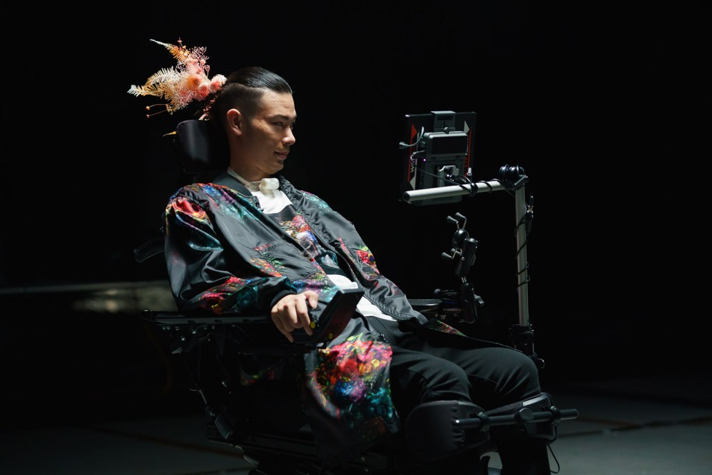 True Colors explores what the future of fashion technology involves with a range of diverse models, many of whom have a disability.