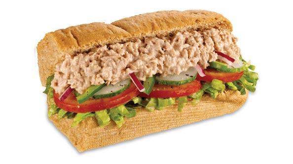 Tuna Sandwich - Tuna Melt - Sub Sandwiches Menu | SUBWAY®