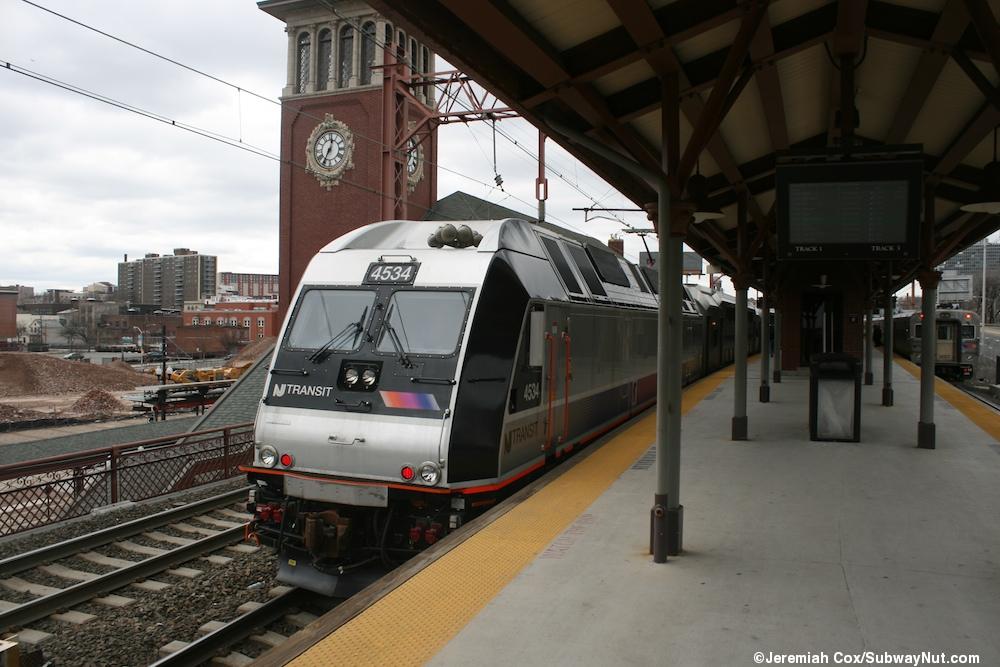 Newark Broad Street New Jersey Transit Morristown Line