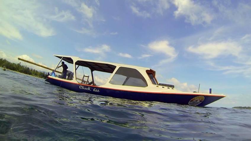 Subwing Boat Gili Islands