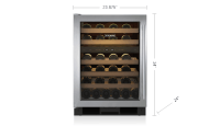 "24"" Undercounter Wine Storage   UW-24/S   Sub-Zero Appliances"