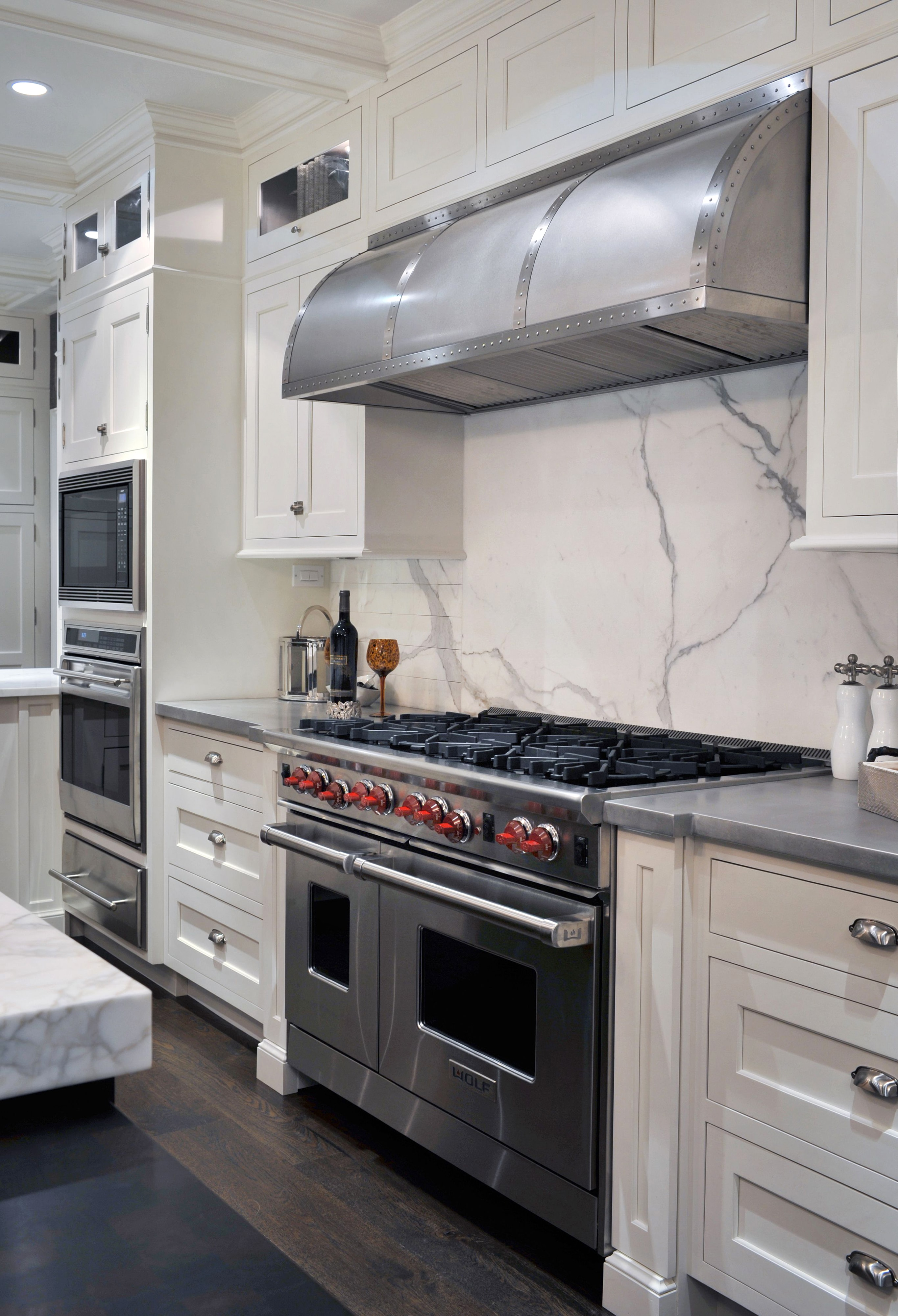 wolf kitchen ranges stainless steel appliance package gallery inspiration sub zero and cove contrasts in harmony
