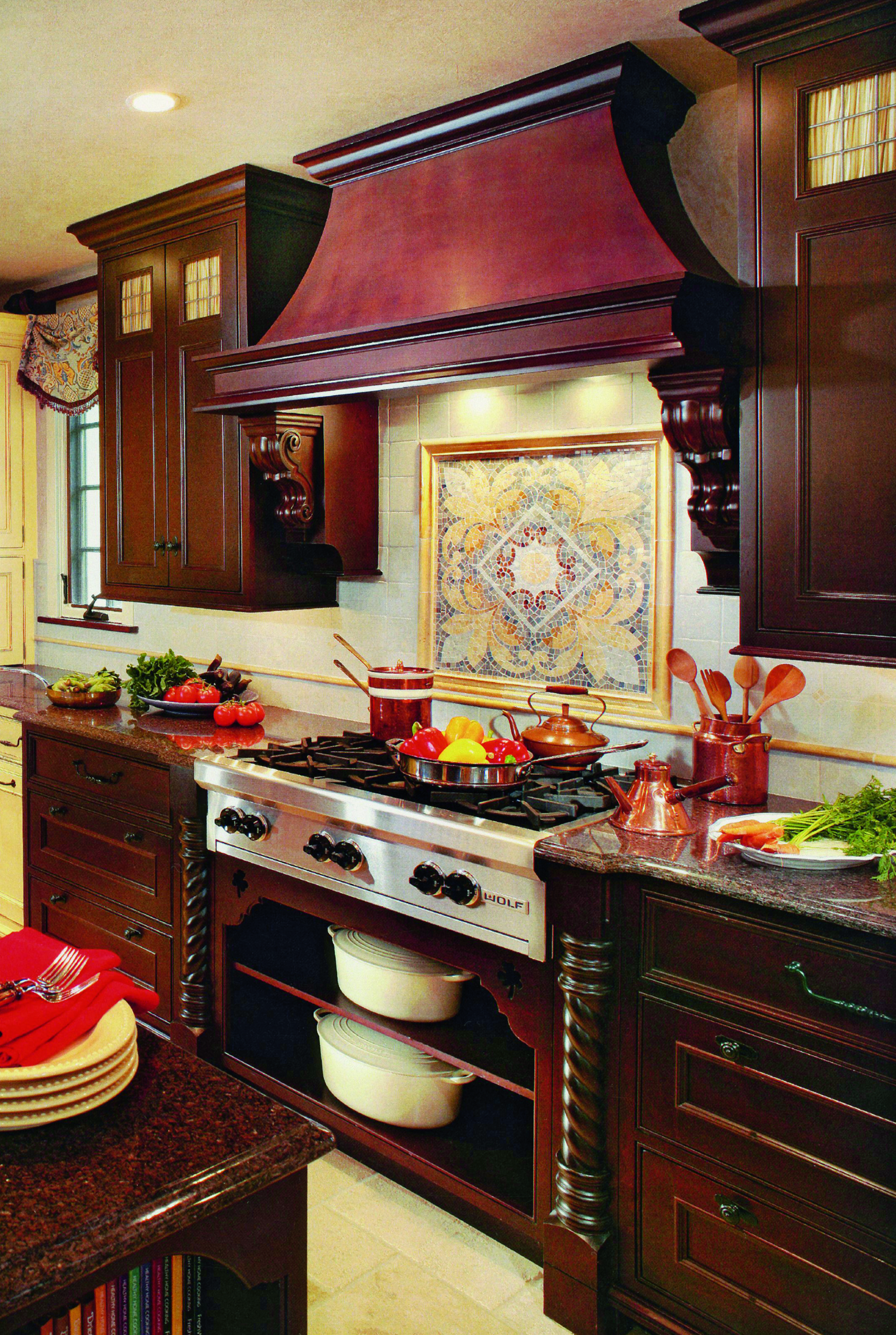 Energized Tudor Kitchen Gallery Sub Zero Amp Wolf Appliances