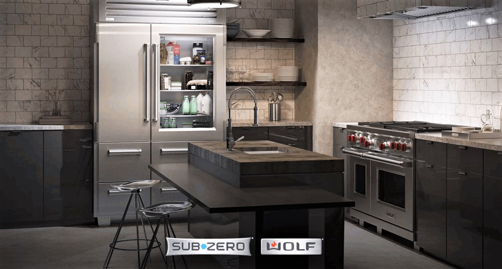 Sub Zero And Wolf Appliances Top Shelf Functionality And Seamless