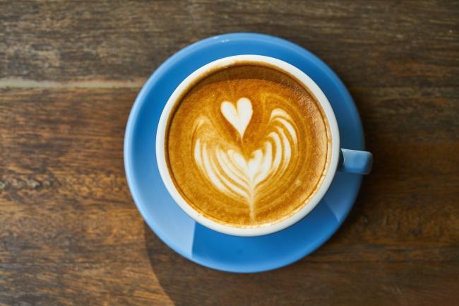 意式咖啡拉花圖片_飲料圖片_素材ABC