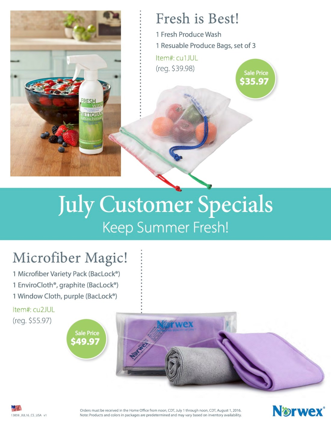 July16 Customer Special