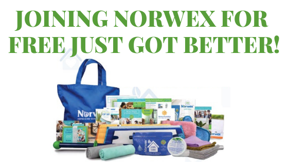 norwex, join free, reduced qualification