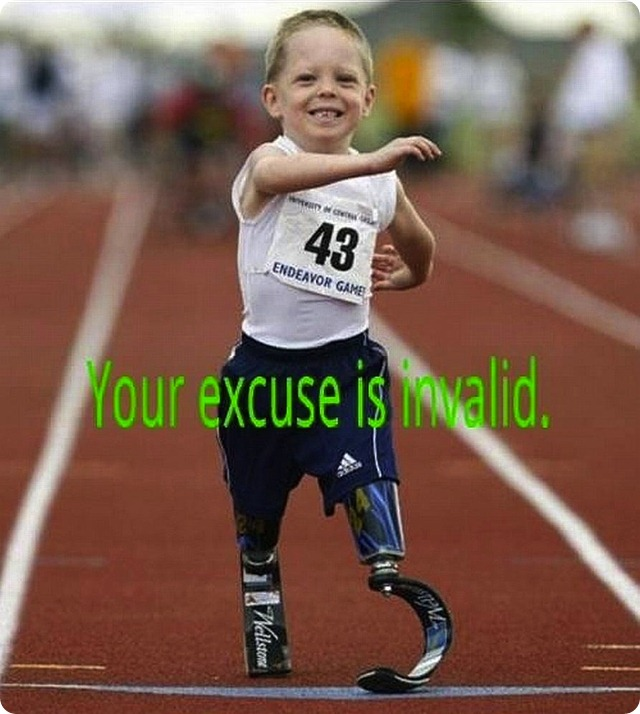 Your Excuse is Invalid