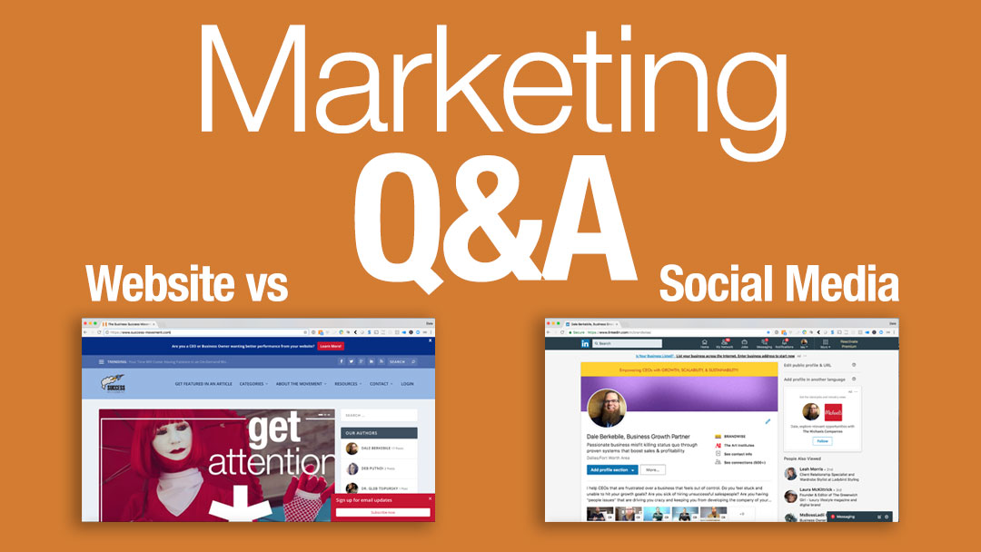 Is a website truly needed in today's world of social media?