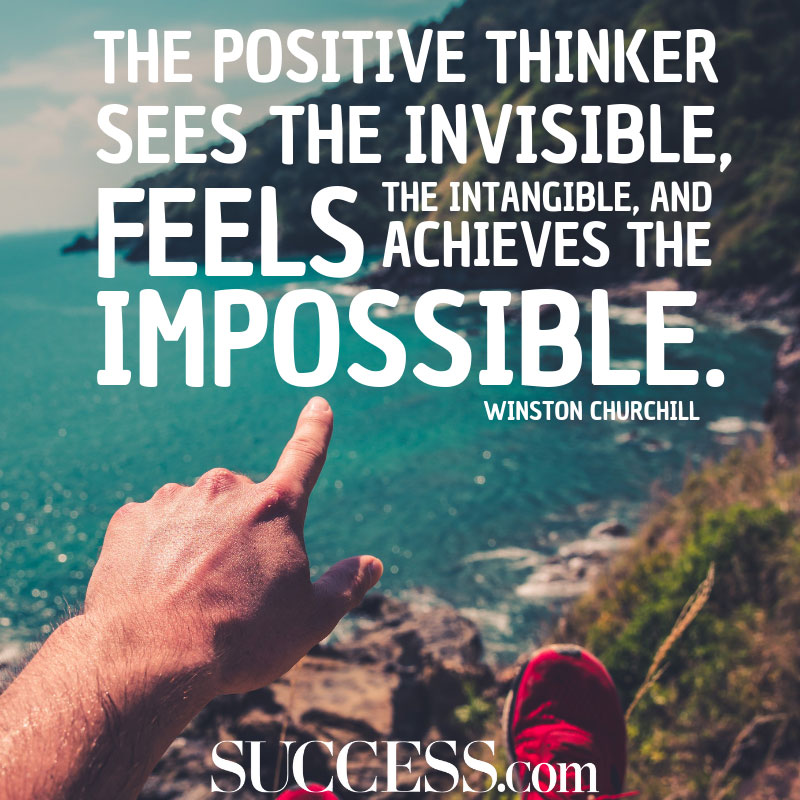 11 Moving Quotes About The Power Of Positive Thinking