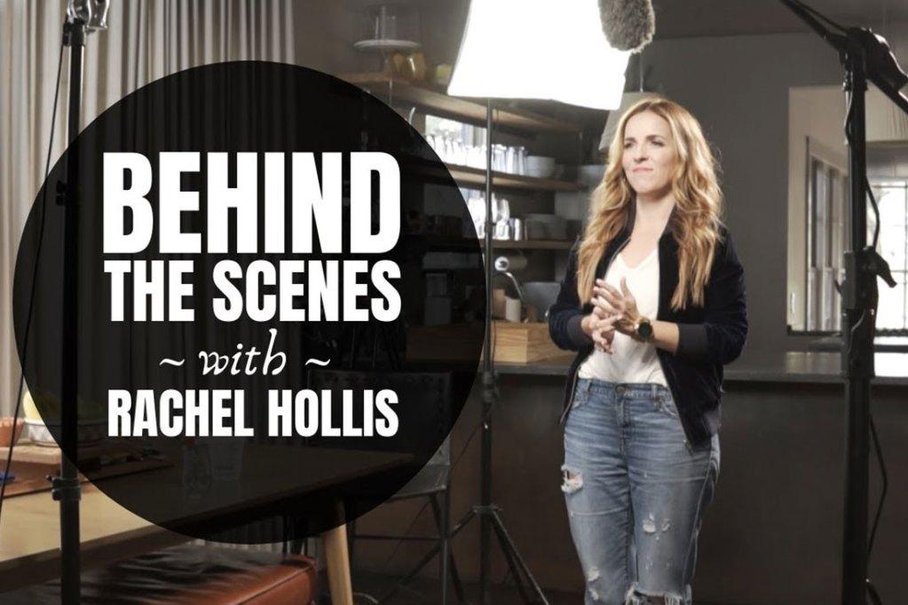 Behind the Scenes With Rachel Hollis