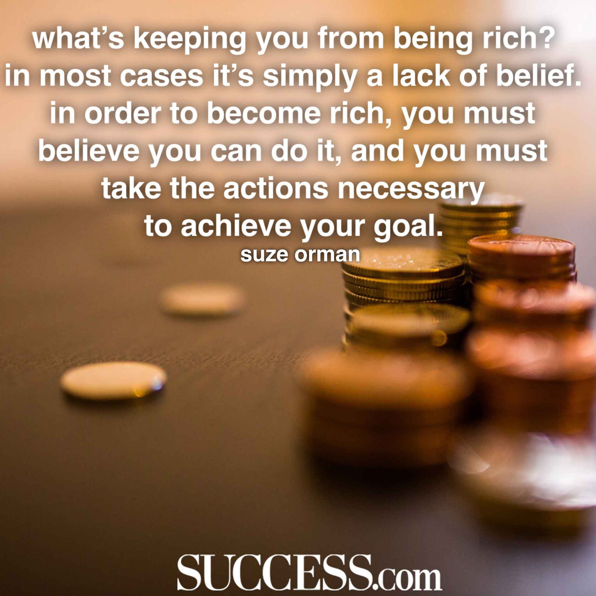 Motivational Inspirational Quotes: 17 Motivating Quotes About Becoming Rich