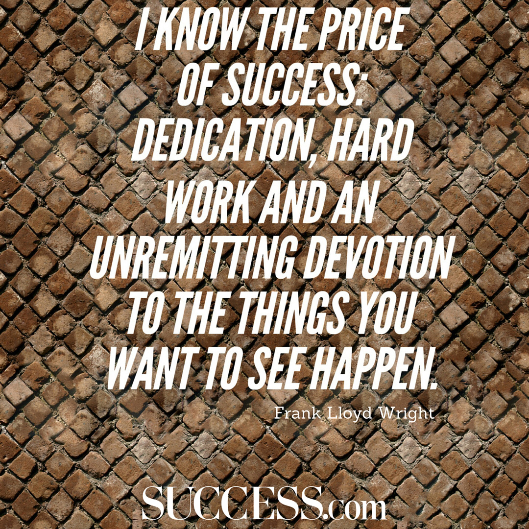 Quotes About Work: 25 Quotes About Success