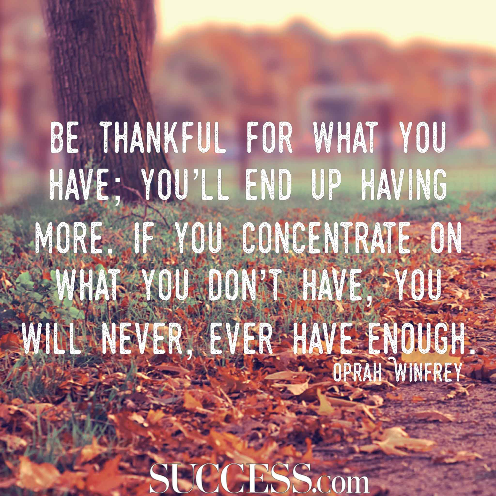 Image of: Life Quotes Success Magazine 15 Thoughtful Quotes About Gratitude