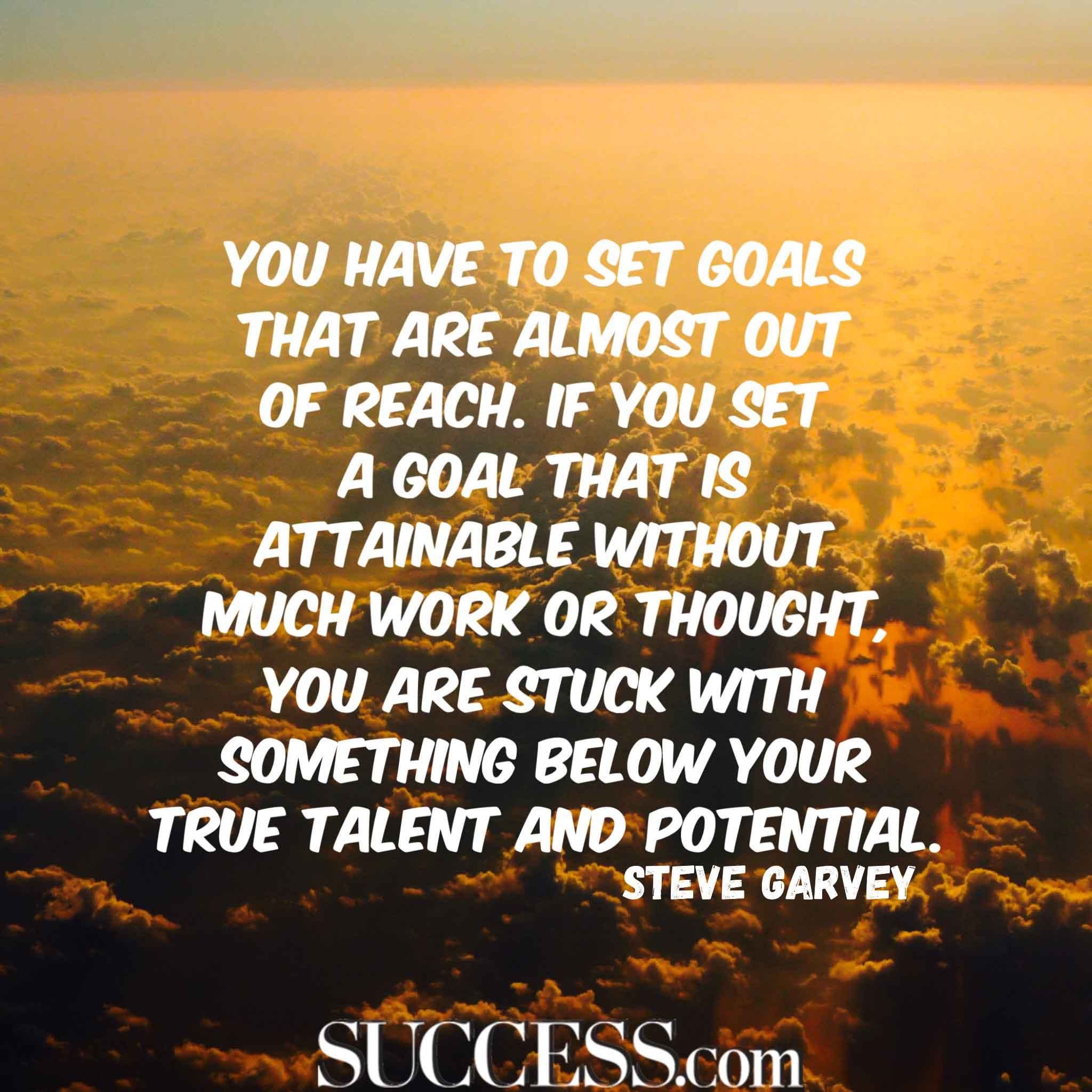 Success Motivational Quotes: 18 Motivational Quotes About Successful Goal Setting