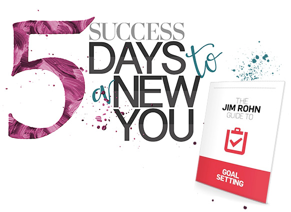 Success 5 Days to a New You Goal Setting
