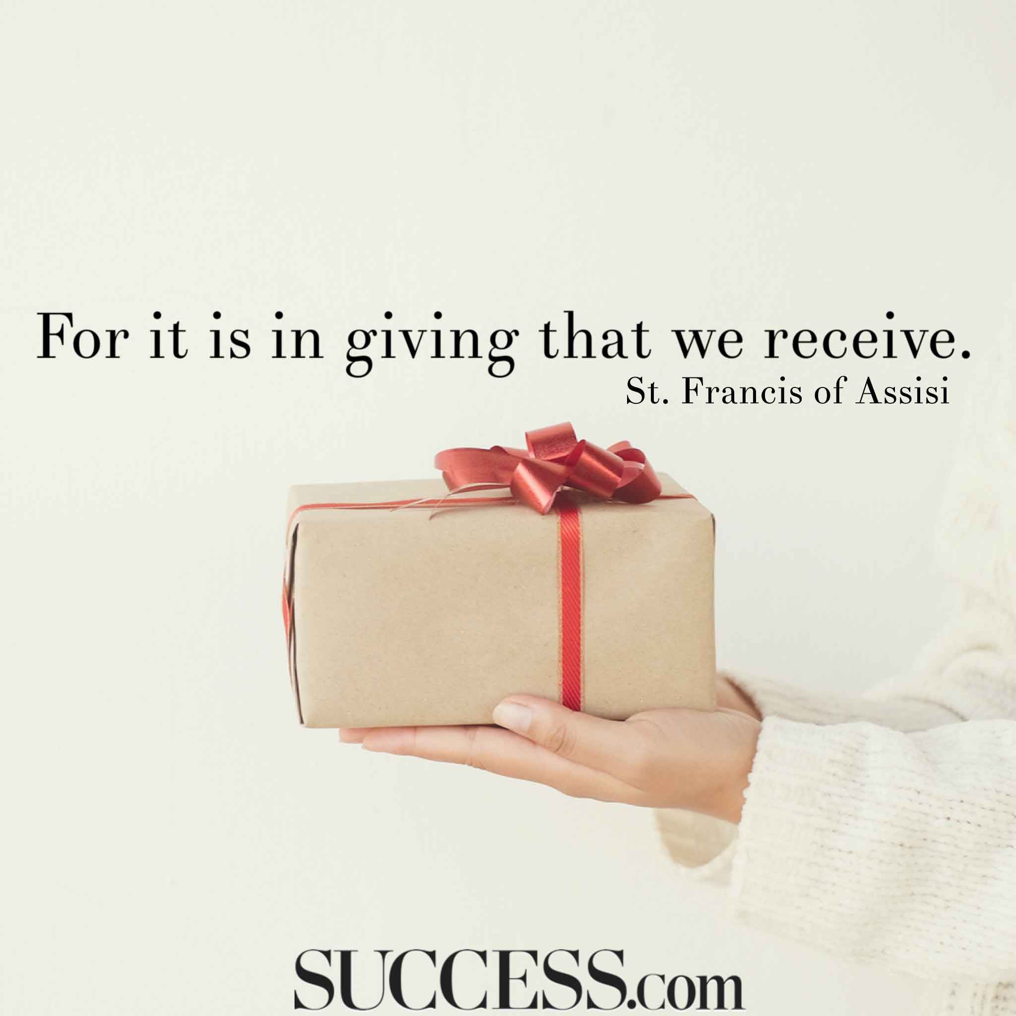 15 Inspiring Quotes About Giving