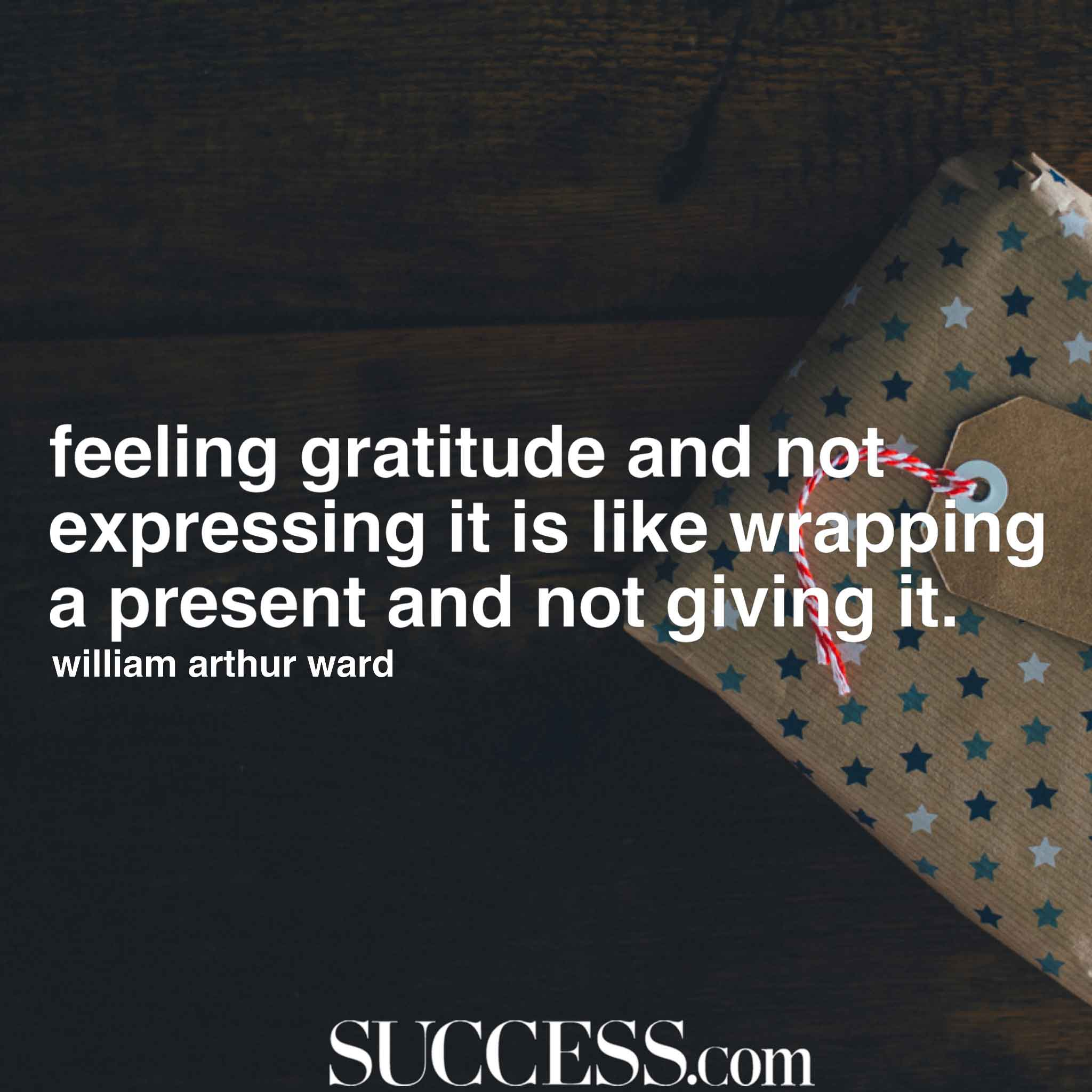 Image of: Romantic Success Magazine 15 Thoughtful Quotes About Gratitude