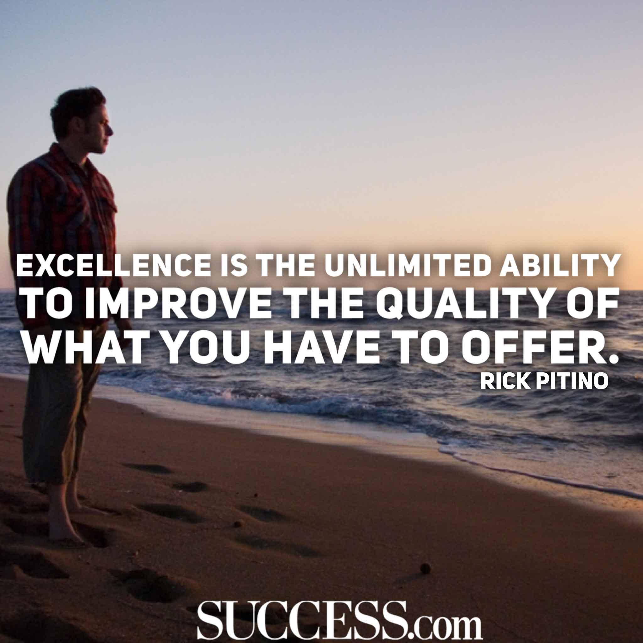 13 Motivational Quotes to Inspire Excellence