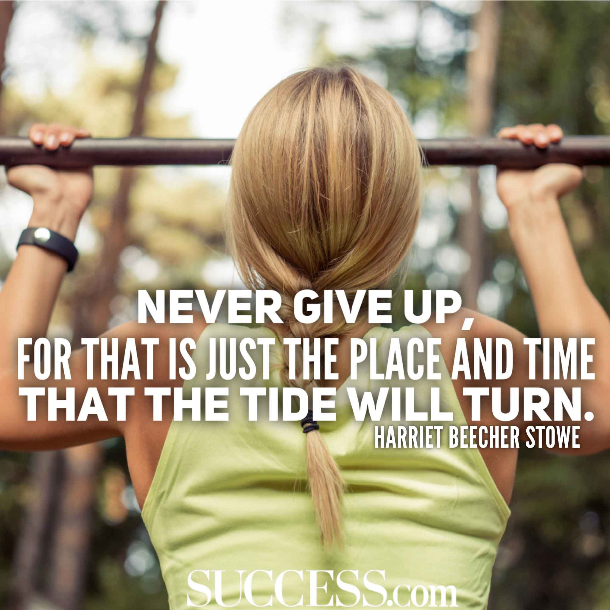 Inspirational Quotes About Never Giving Up