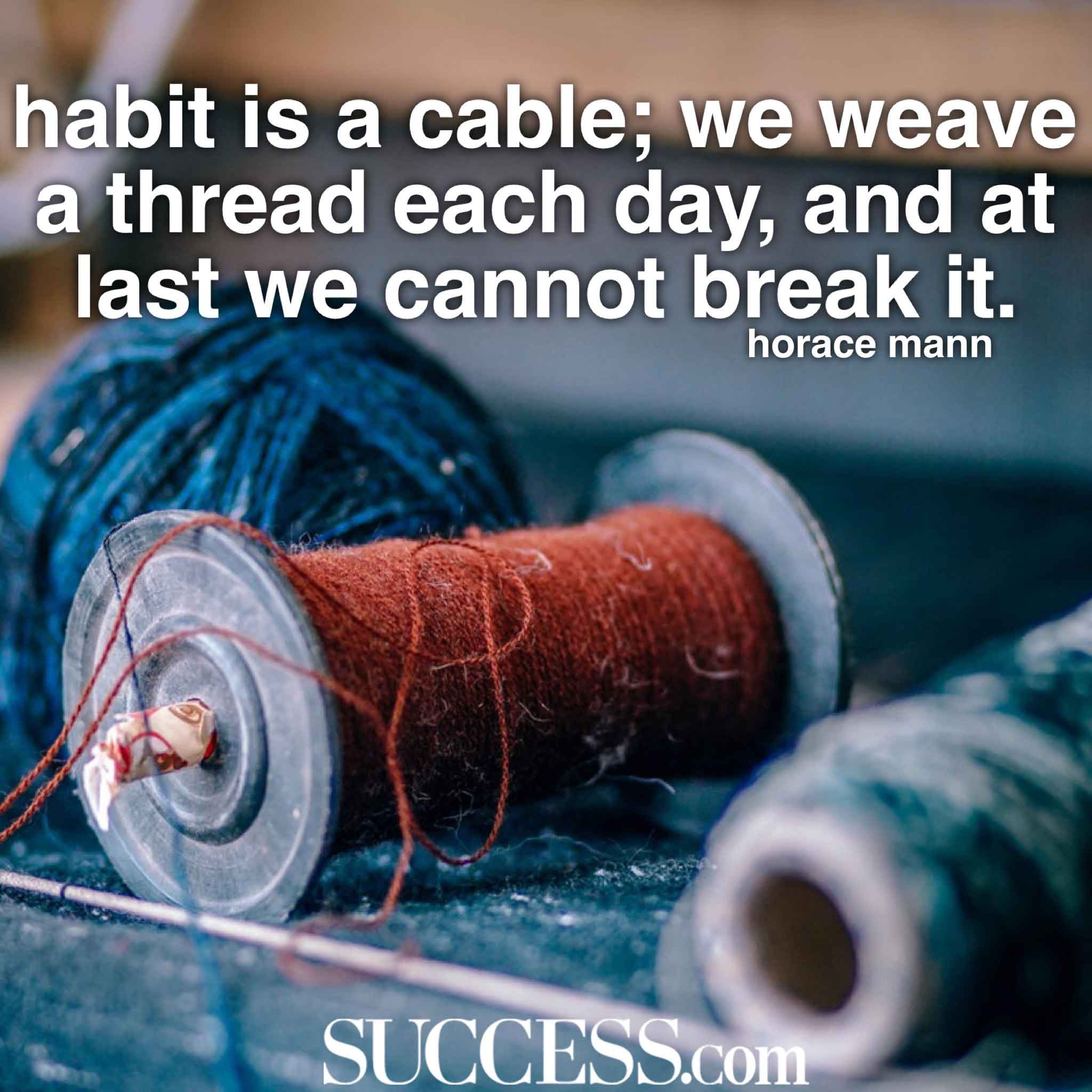 17 Motivational Quotes to Inspire Successful Habits