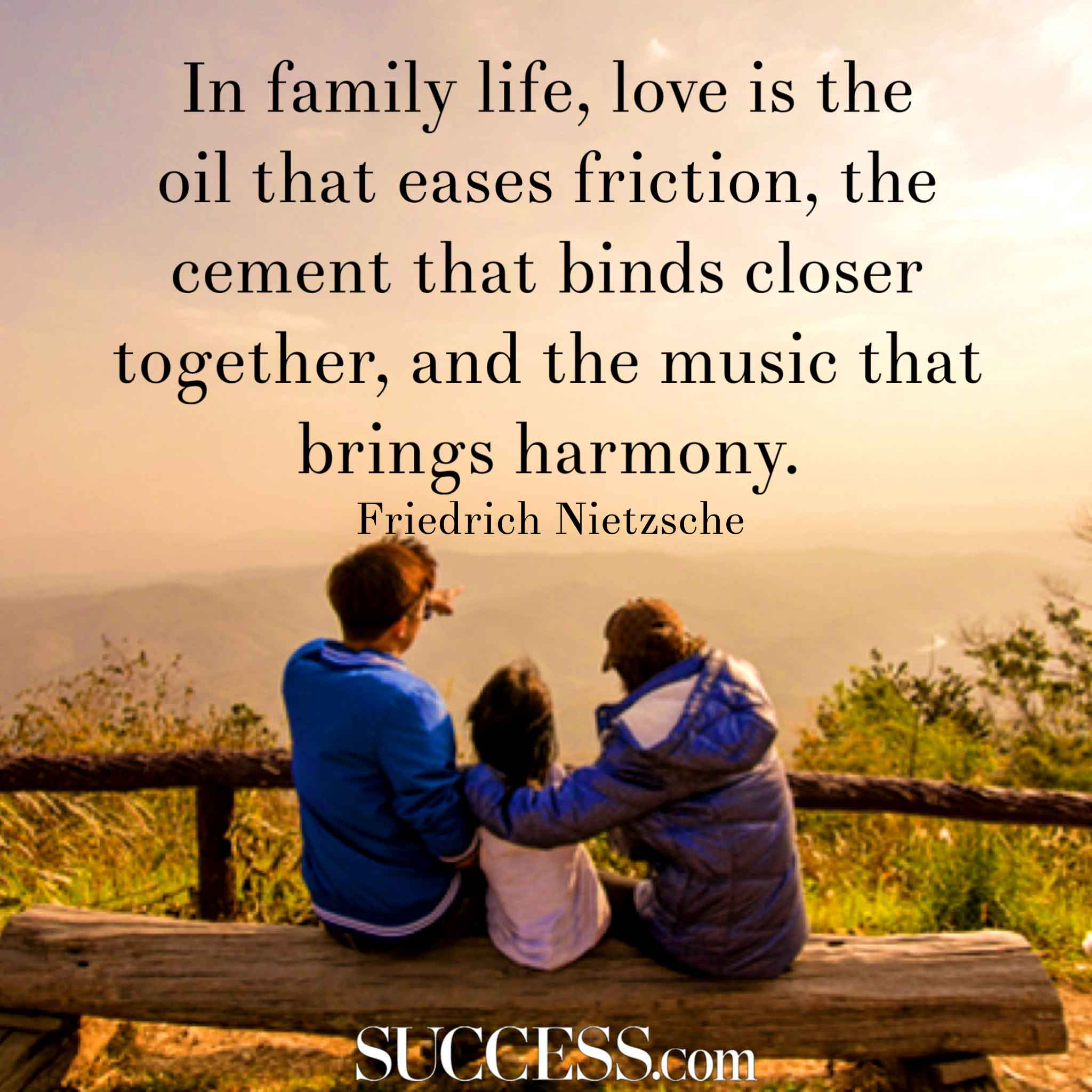 Love Quotes Pictures: 14 Loving Quotes About Family