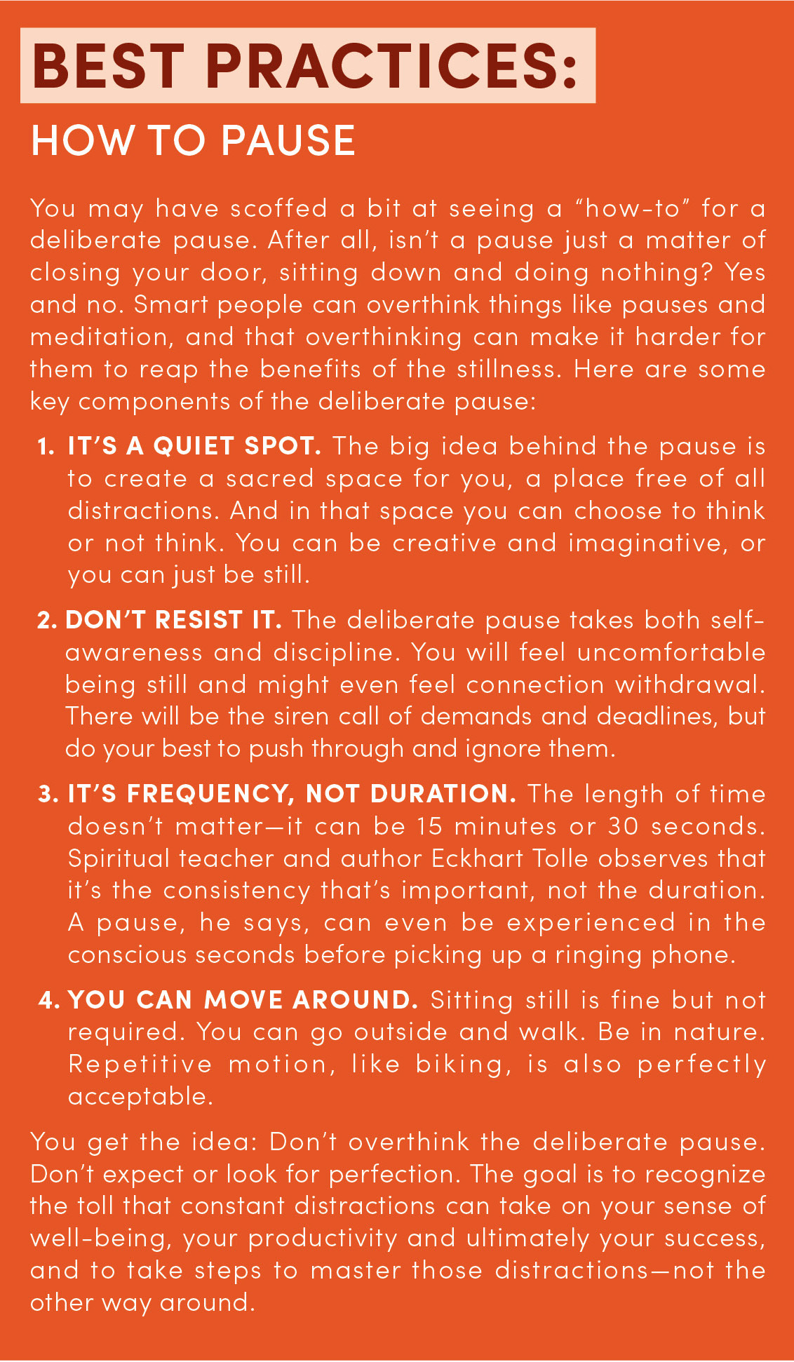 Why You Need 'Just Be' for 10 Minutes a Day