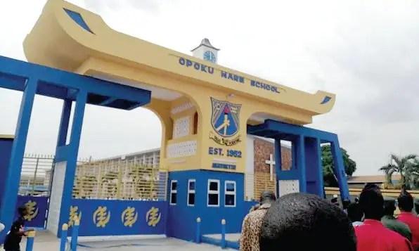 Category a schools in Ashanti Region