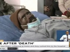Kenyan man 'who woke up in a morgue dies'