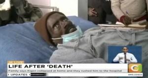 Kenyan man 'who woke up in a morgue dies'