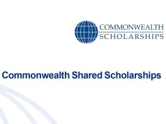 Commonmwealth Shared Scholarships