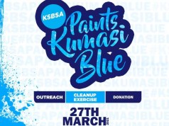 KSB Paints Kumasi Blue