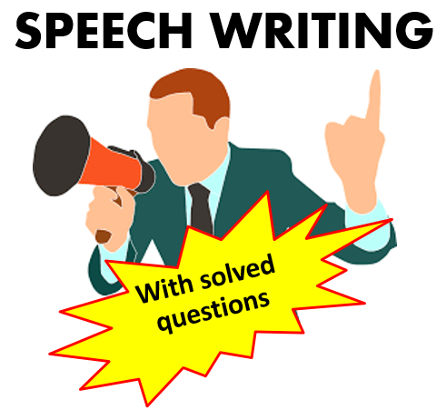 Speech writing for student