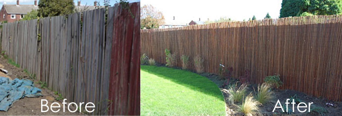Garden fencing lowdown part 1 for Cheap fence screening