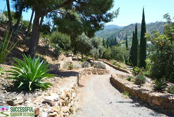 Garden tour la concepci n jardin botanico malaga spain for Successful garden design