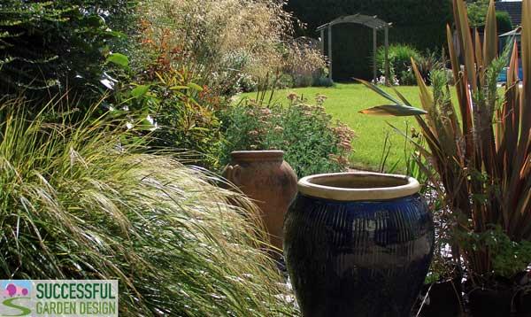Garden Design Long Narrow Plot long gardens - how to divide up the space