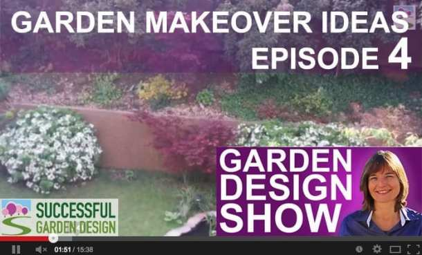 Design show 4 garden makeover ideas for Successful garden design