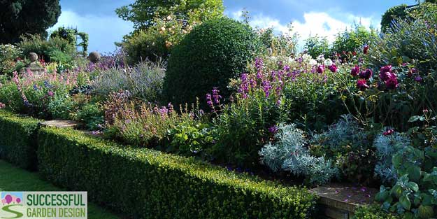Successful garden design tips simple stunning colour for Successful garden design