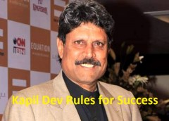 kapil dev rules for success