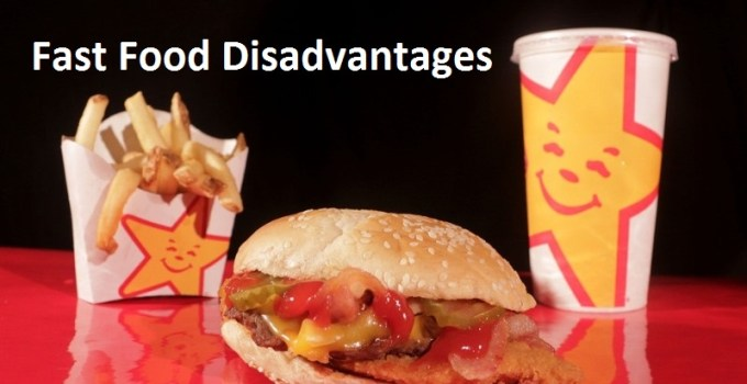 fast food disadvantages in hindi