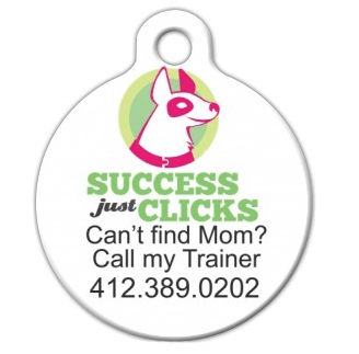 This is what the front of the tag will look like (there will be a Dad tag as well)